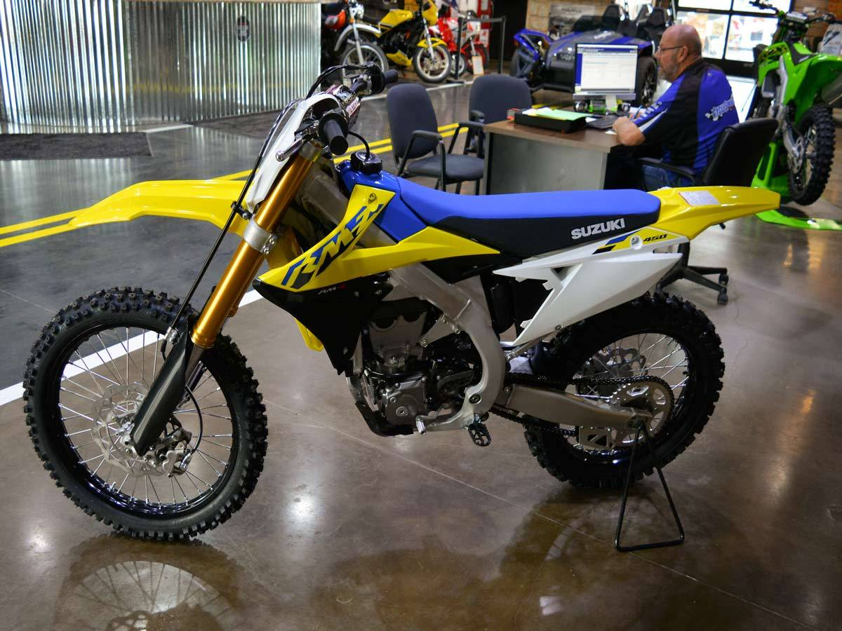 2021 Suzuki RM-Z450 in Clearwater, Florida - Photo 2