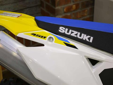2021 Suzuki RM-Z450 in Clearwater, Florida - Photo 11