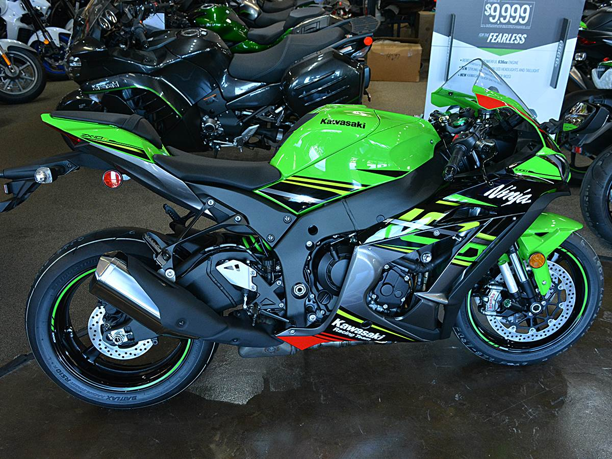 New 2019 Kawasaki Ninja Zx 10r Krt Edition Motorcycles In Clearwater