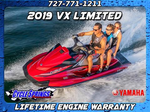 2019 Yamaha VX LIMITED in Clearwater, Florida - Photo 1