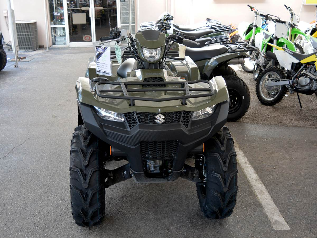 2019 Suzuki KingQuad 750AXi Power Steering in Clearwater, Florida