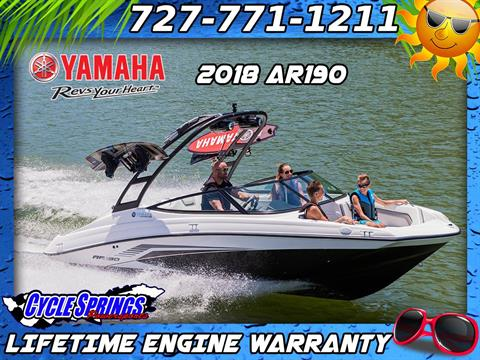 2018 Yamaha AR190 in Clearwater, Florida