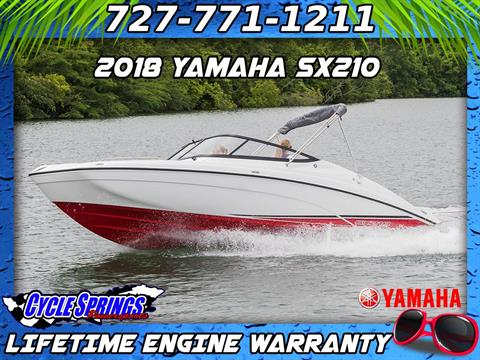 2018 Yamaha SX210 in Clearwater, Florida