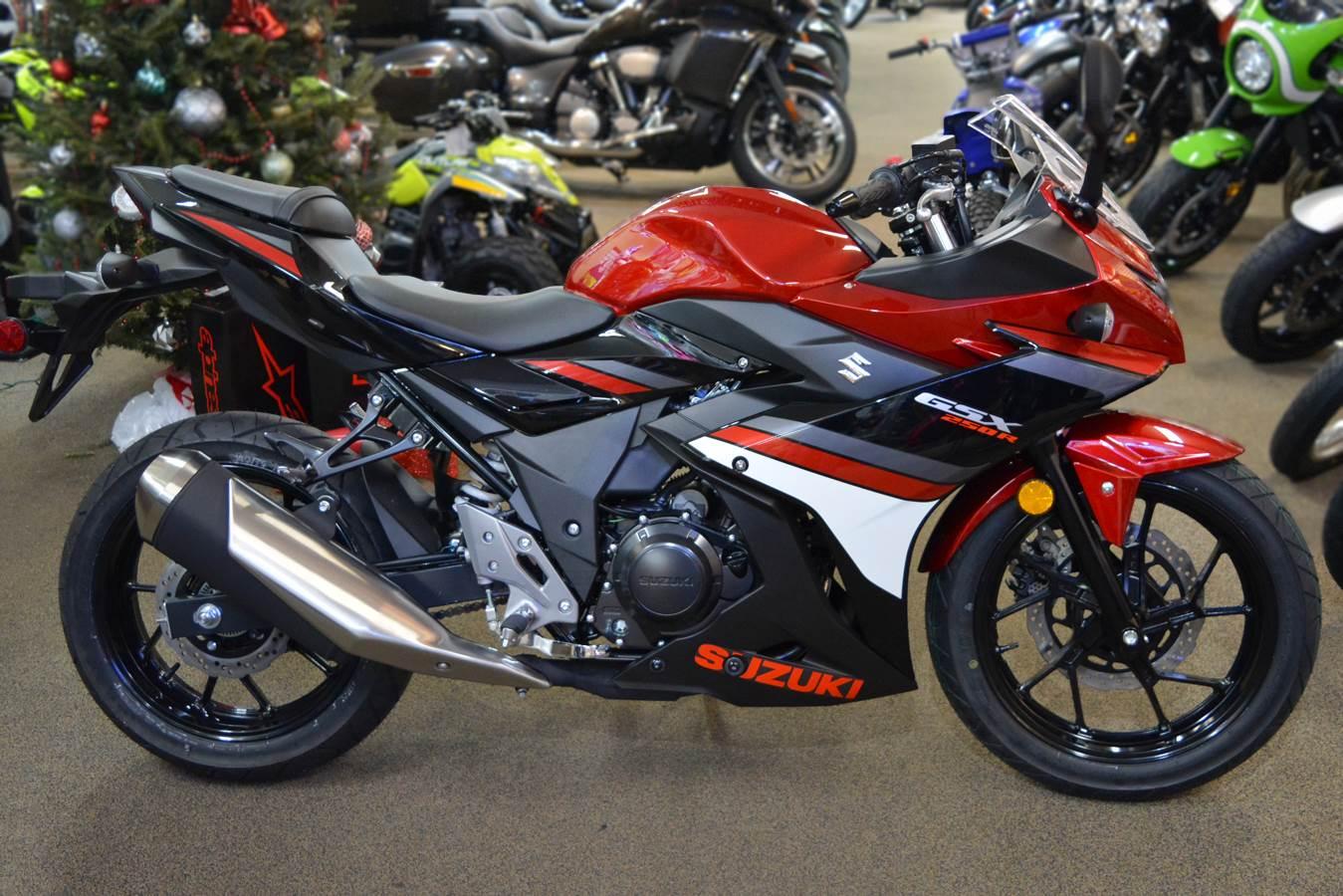 New 2019 Suzuki Gsx250r Motorcycles In Clearwater Fl Stock Number