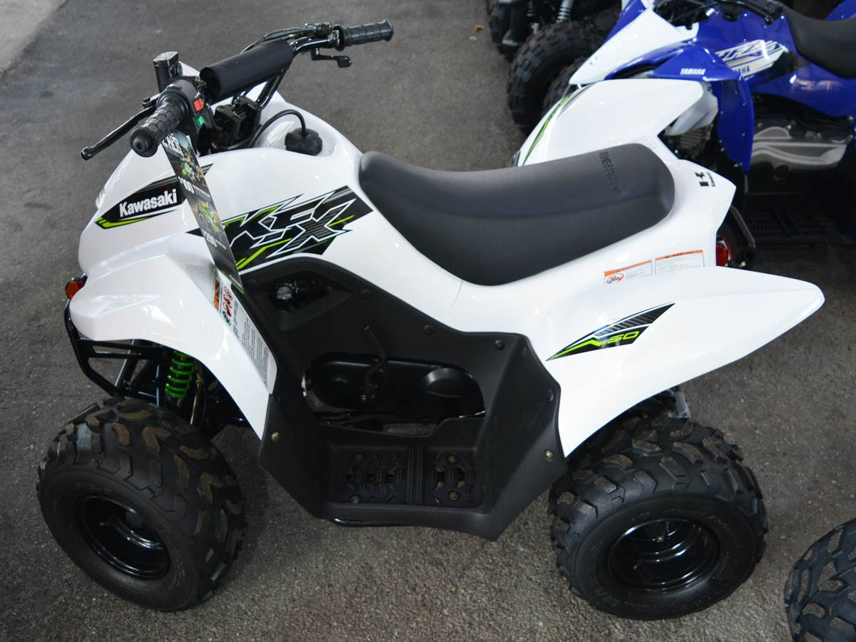2019 Kawasaki KFX 50 in Clearwater, Florida - Photo 1