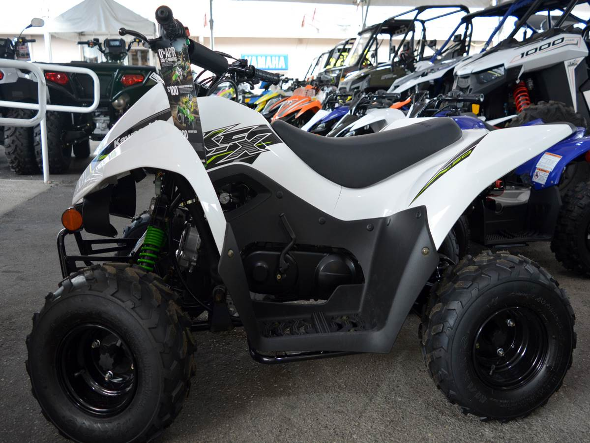 2019 Kawasaki KFX 50 in Clearwater, Florida - Photo 5