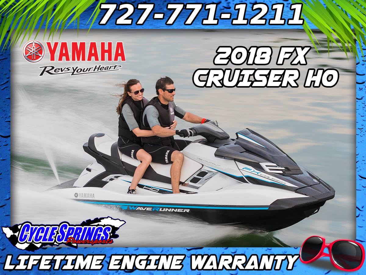 2018 Yamaha FX Cruiser HO for sale 153496