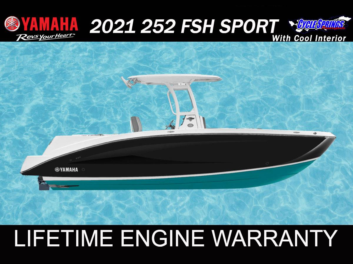 2021 Yamaha 252 FSH SPORT in Clearwater, Florida - Photo 1