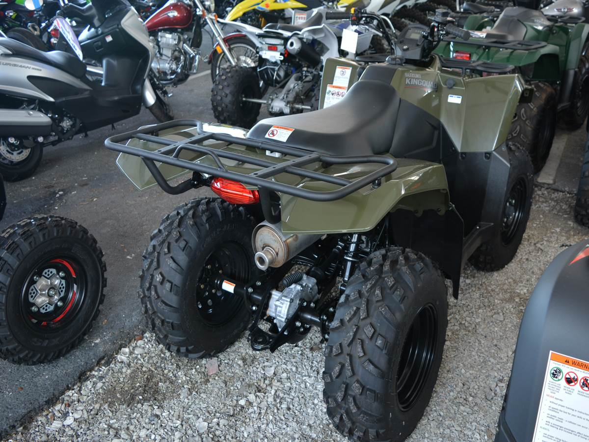 2019 Suzuki KingQuad 400ASi in Clearwater, Florida