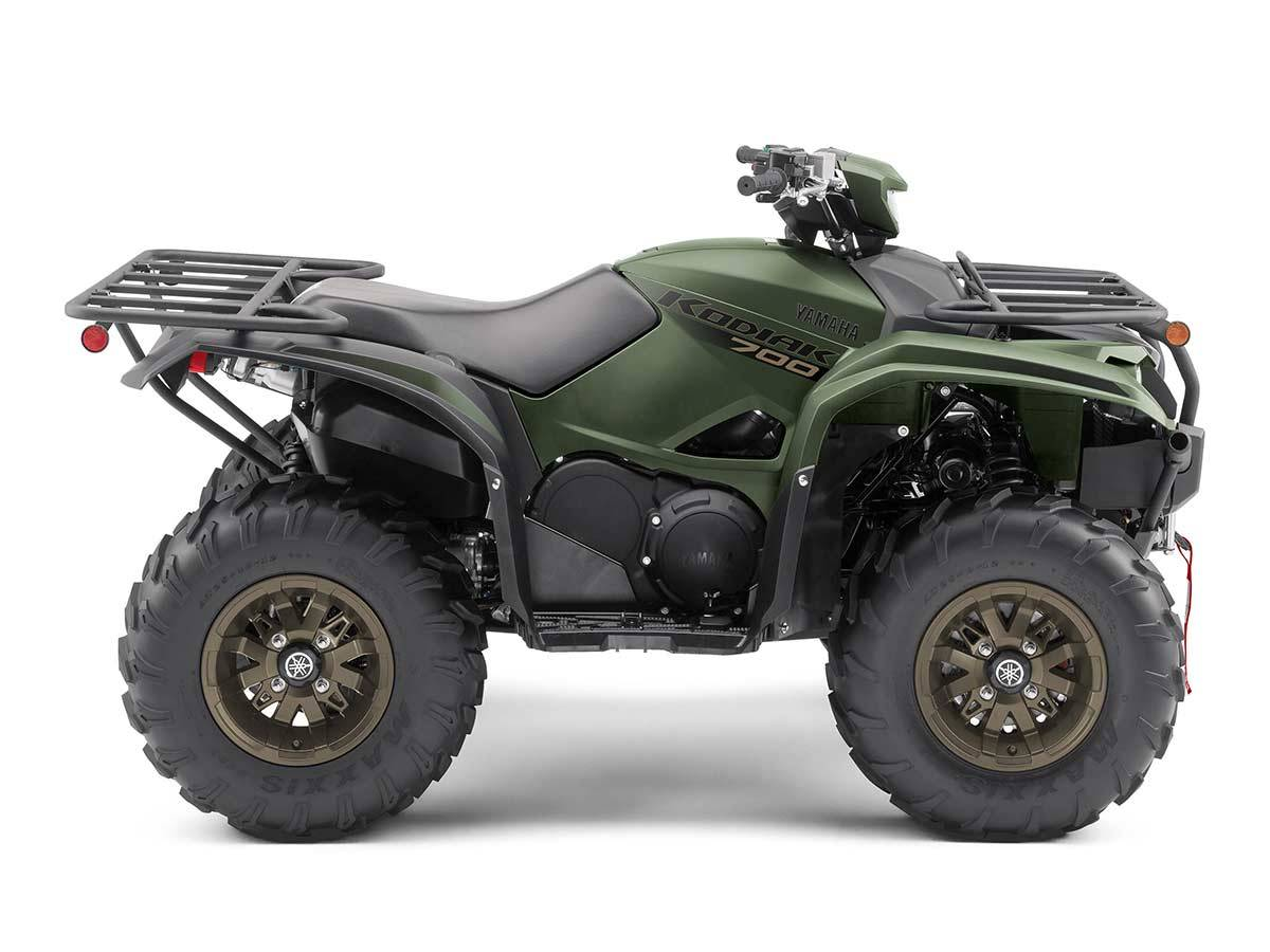 2021 Yamaha Kodiak 700 EPS SE in Clearwater, Florida - Photo 5