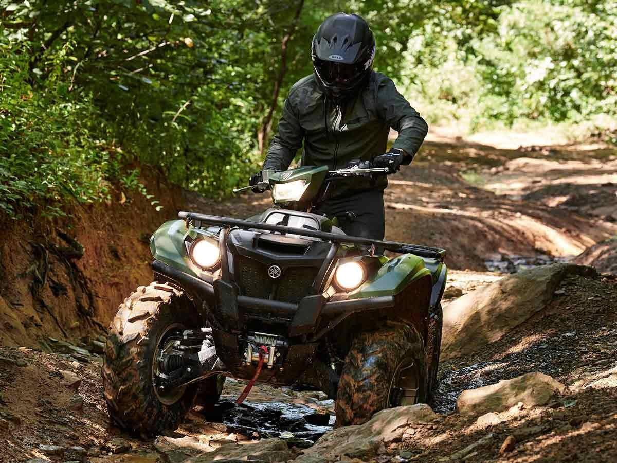 2021 Yamaha Kodiak 700 EPS SE in Clearwater, Florida - Photo 7