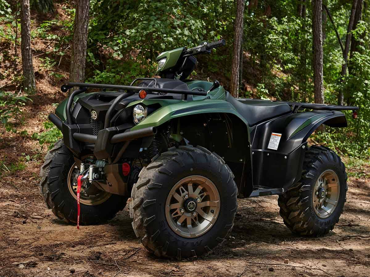 2021 Yamaha Kodiak 700 EPS SE in Clearwater, Florida - Photo 9