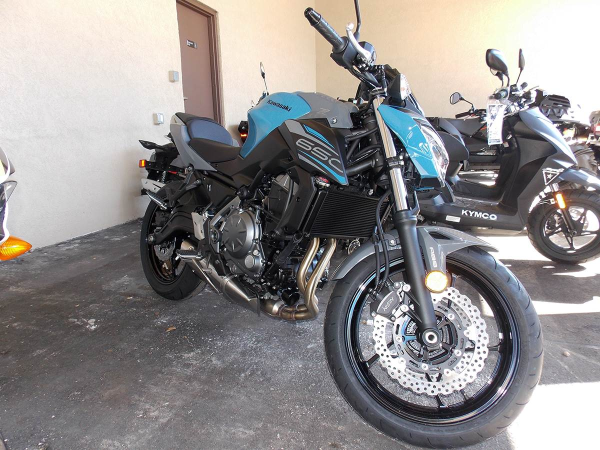 2019 Kawasaki Z650 ABS in Clearwater, Florida - Photo 5