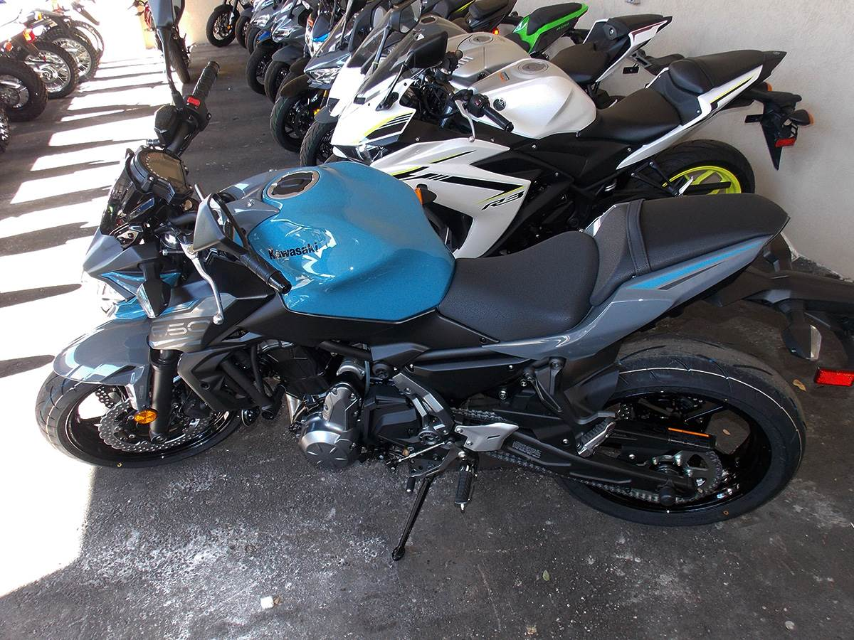 2019 Kawasaki Z650 ABS in Clearwater, Florida - Photo 10