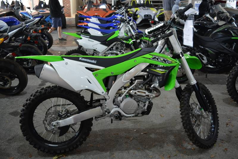 2018 Kawasaki Kx 450f In Clearwater Florida