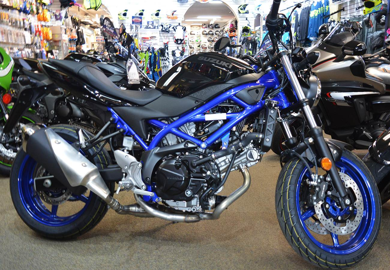 New 2019 Suzuki Sv650 Abs Motorcycles In Clearwater Fl Stock