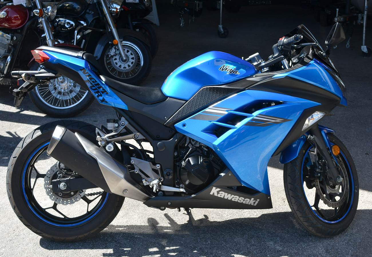 Used 2017 Kawasaki Ninja 300 Abs Motorcycles In Clearwater Fl