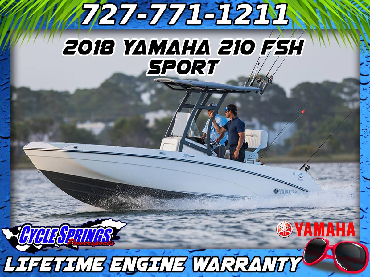 2018 Yamaha 210 FSH Sport in Clearwater, Florida