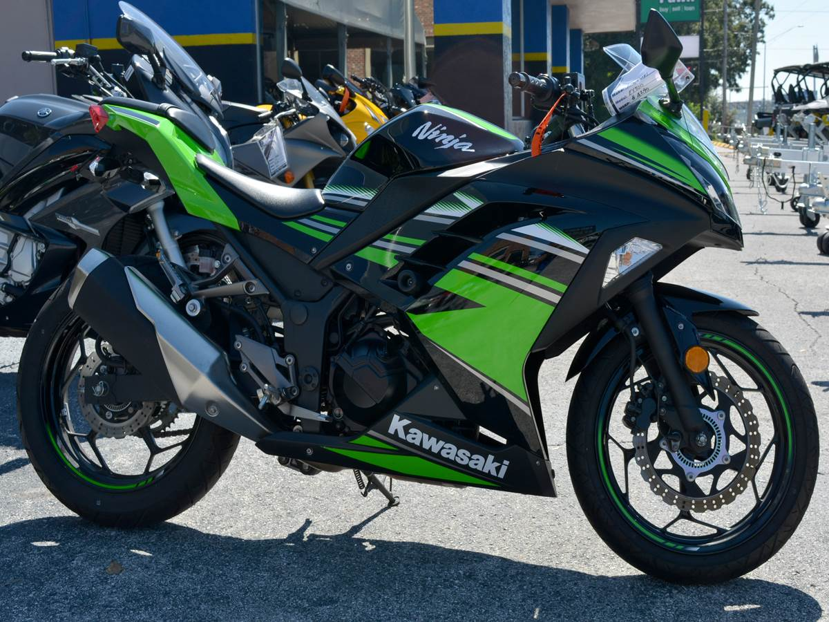 Used 2016 Kawasaki Ninja 300 Abs Krt Edition Motorcycles In Green Clearwater Florida