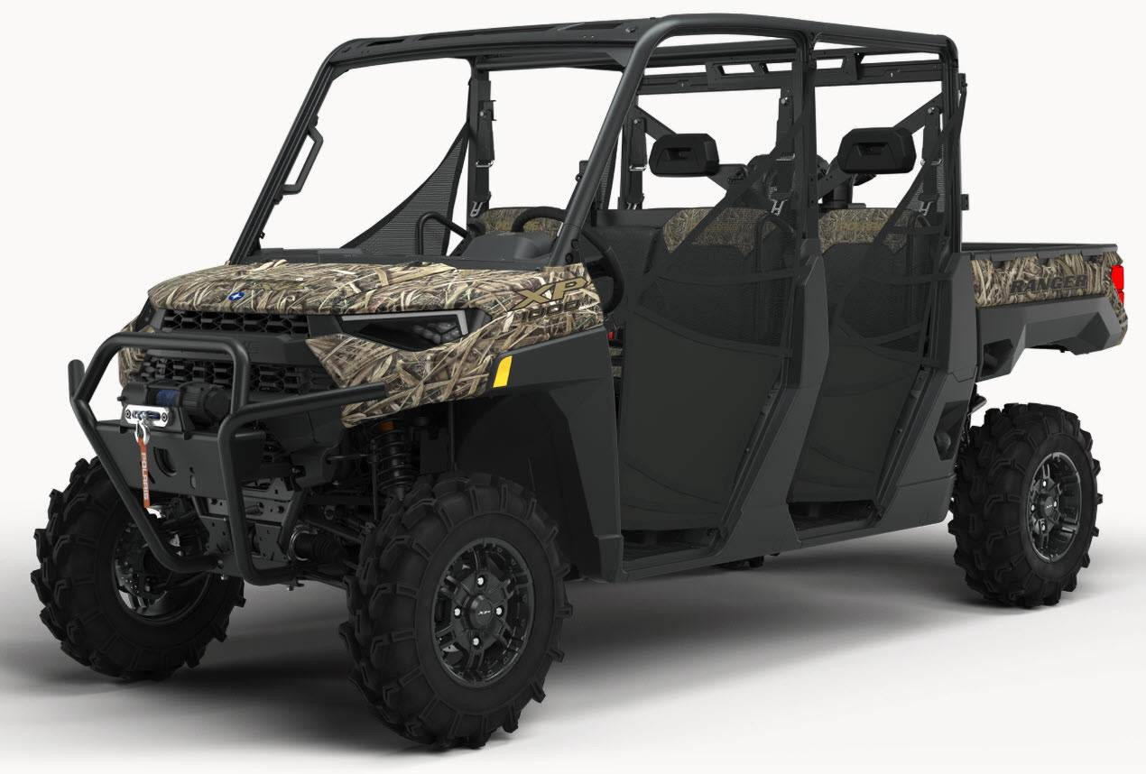 2021 Polaris RANGER CREW XP 1000 Waterfowl Edition in Clearwater, Florida - Photo 1