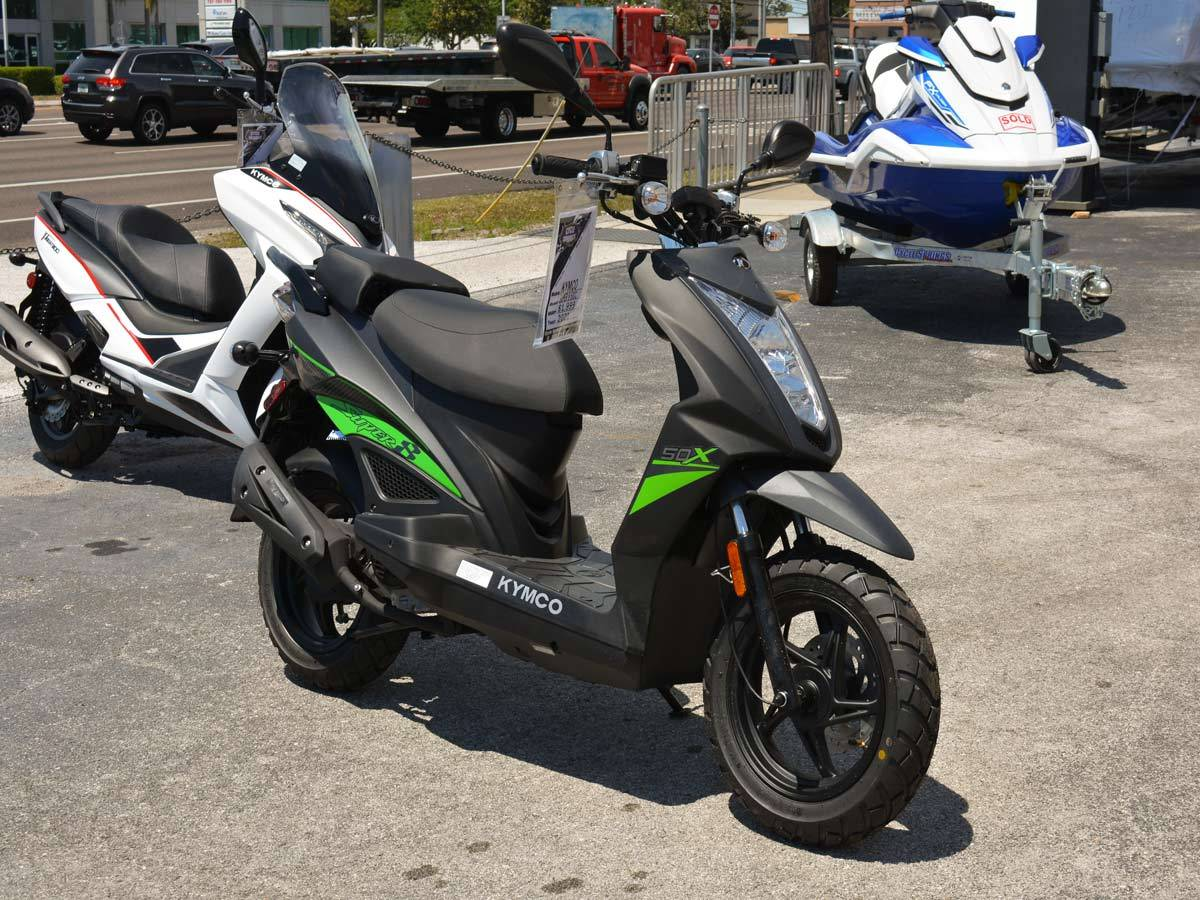 2021 Kymco Super 8 50X in Clearwater, Florida - Photo 9