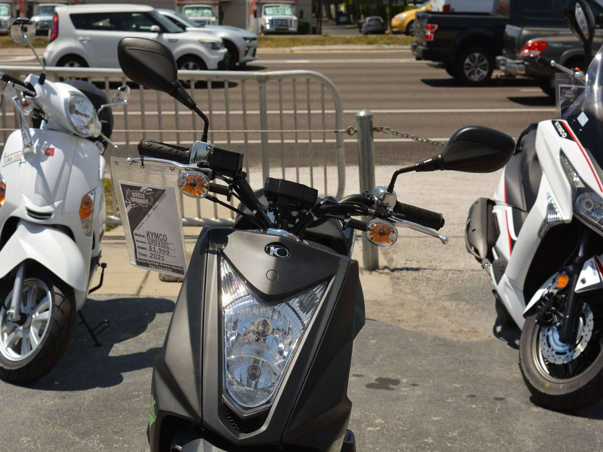 2021 Kymco Super 8 50X in Clearwater, Florida - Photo 11