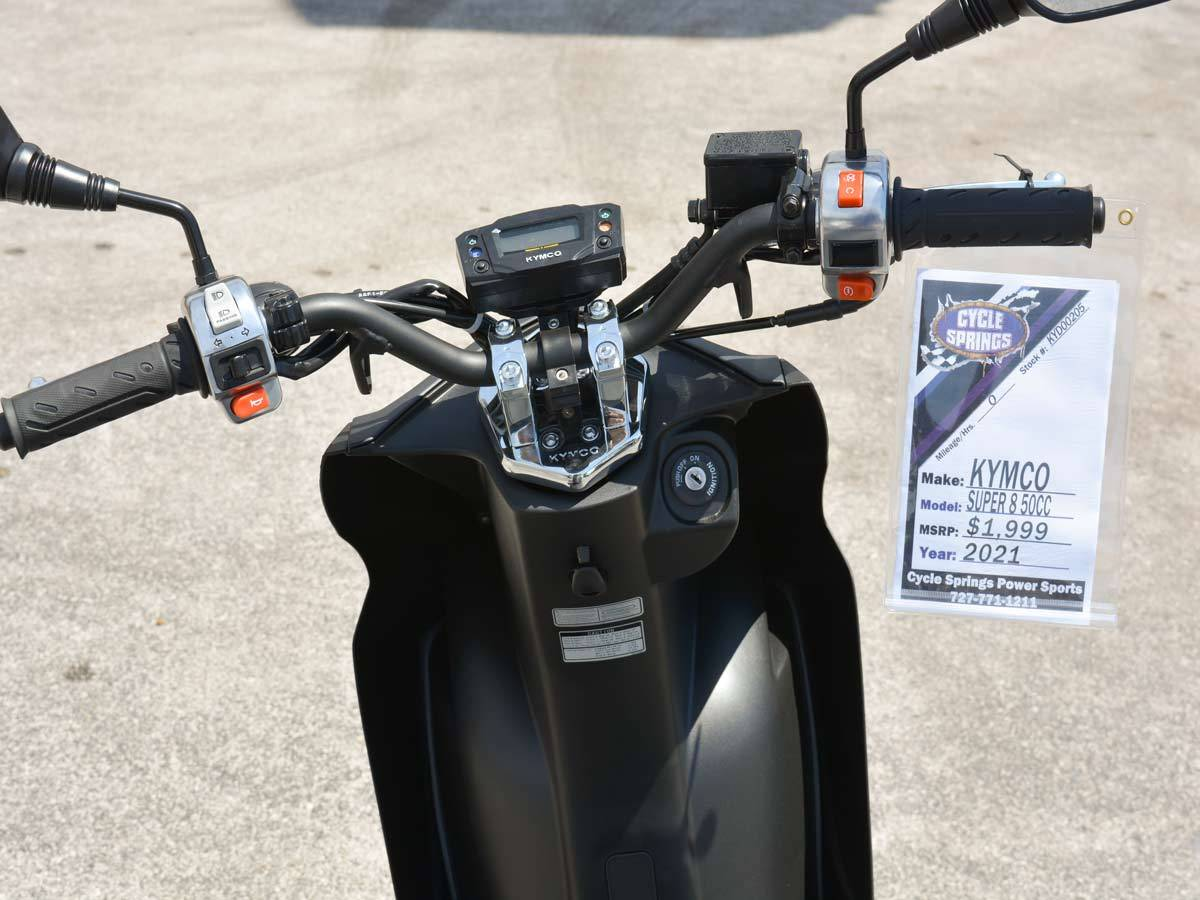 2021 Kymco Super 8 50X in Clearwater, Florida - Photo 14