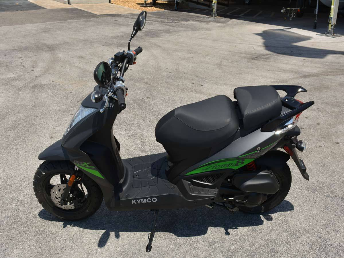 2021 Kymco Super 8 50X in Clearwater, Florida - Photo 15