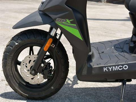 2021 Kymco Super 8 50X in Clearwater, Florida - Photo 16