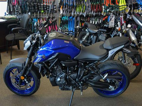 2021 Yamaha MT-07 in Clearwater, Florida - Photo 2