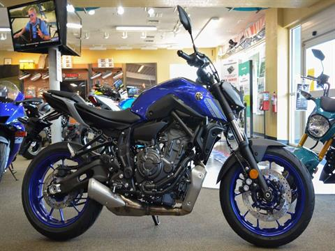 2021 Yamaha MT-07 in Clearwater, Florida - Photo 12
