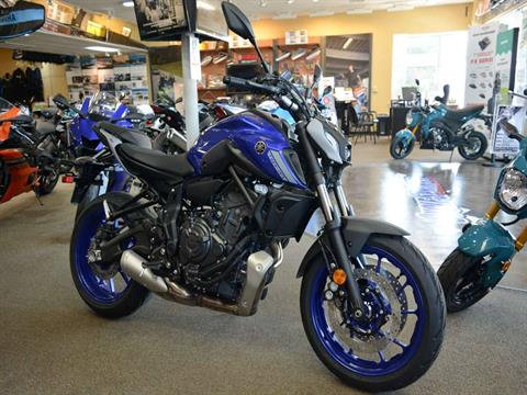 2021 Yamaha MT-07 in Clearwater, Florida - Photo 15