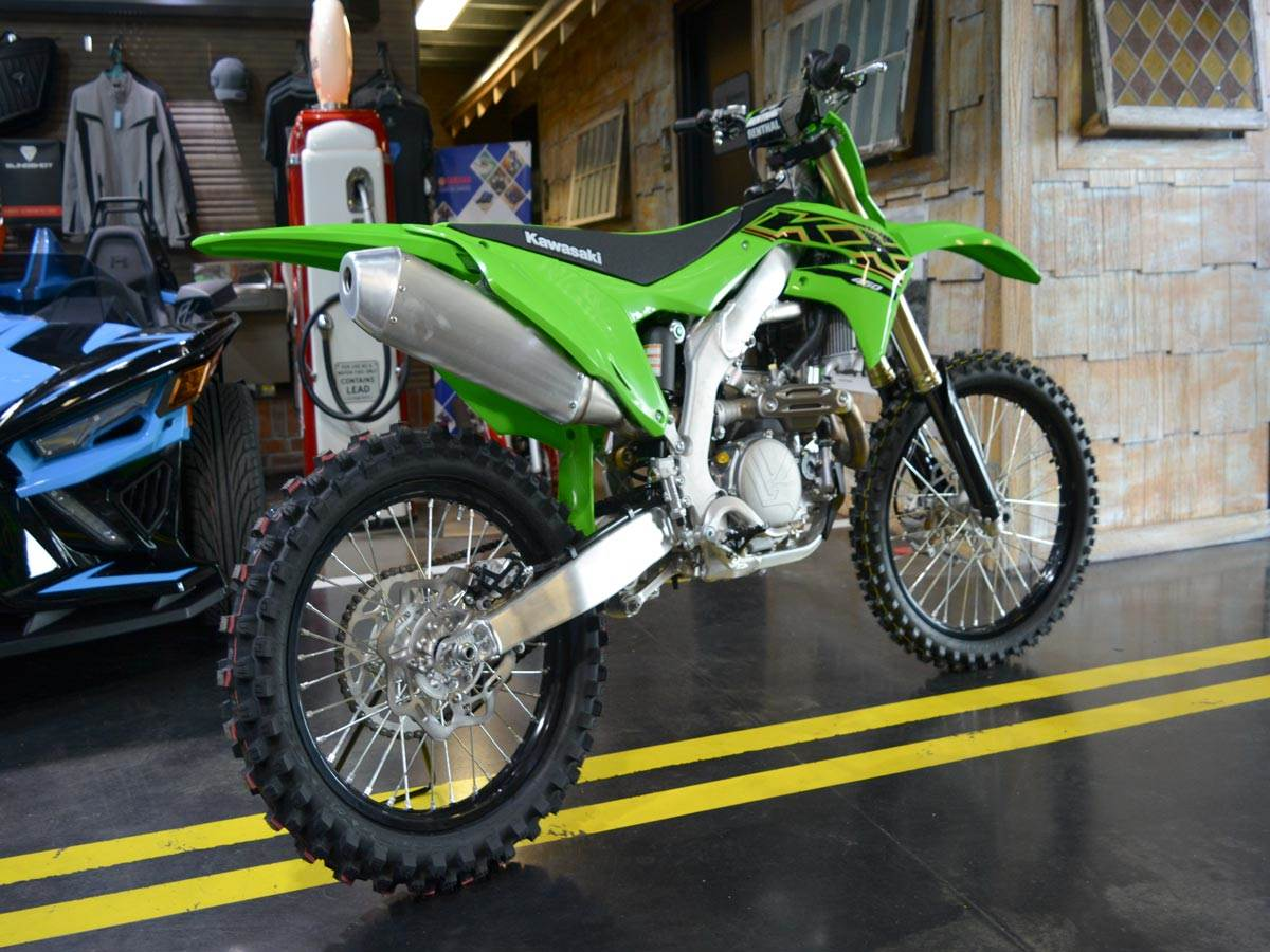 2021 Kawasaki KX 450 in Clearwater, Florida - Photo 4
