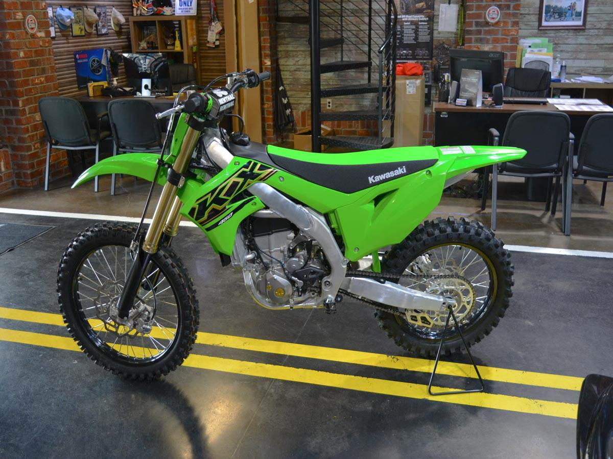 2021 Kawasaki KX 450 in Clearwater, Florida - Photo 5