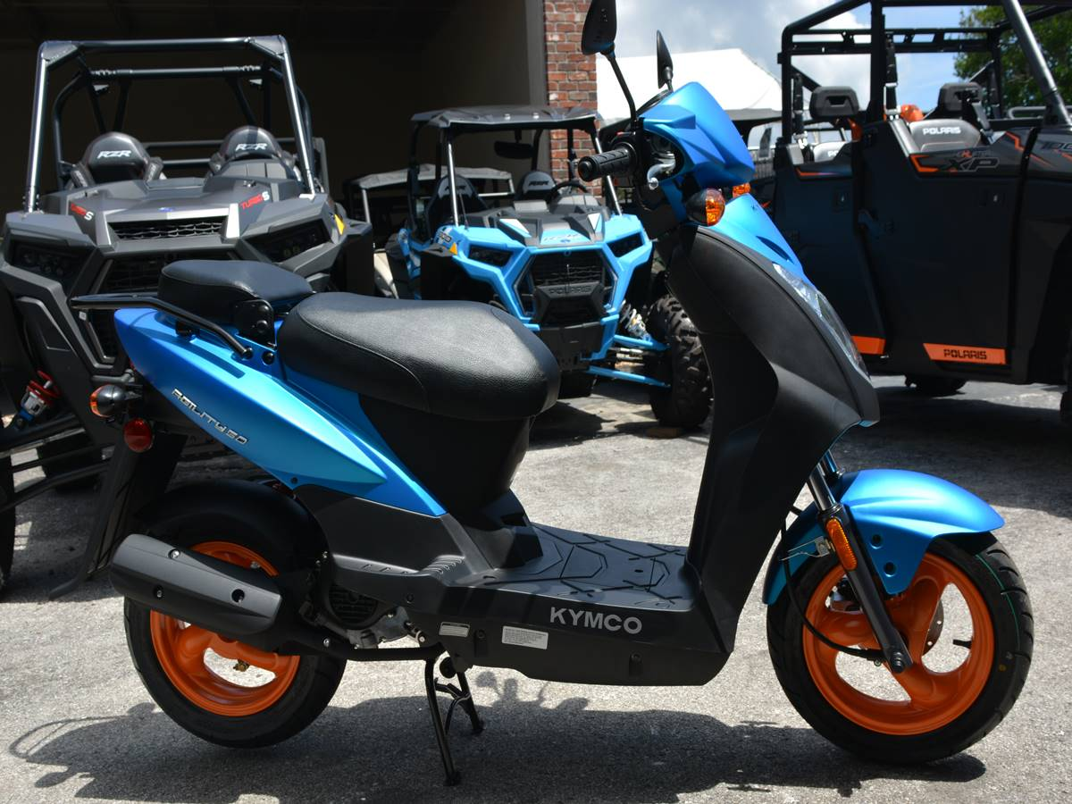 2019 Kymco Agility 50 in Clearwater, Florida - Photo 8