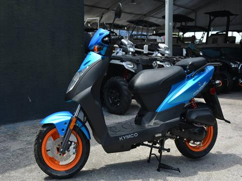 2019 Kymco Agility 50 in Clearwater, Florida - Photo 12