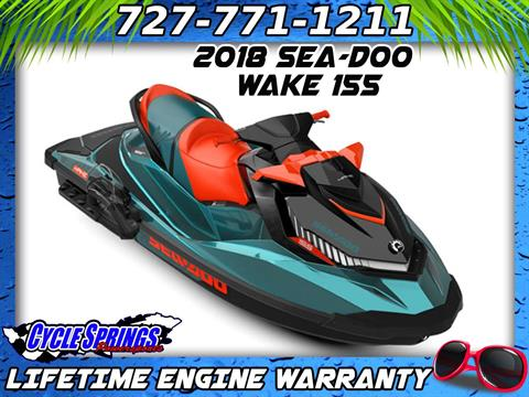 2018 Sea-Doo WAKE 155 in Clearwater, Florida