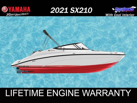 2021 Yamaha SX210 in Clearwater, Florida - Photo 1