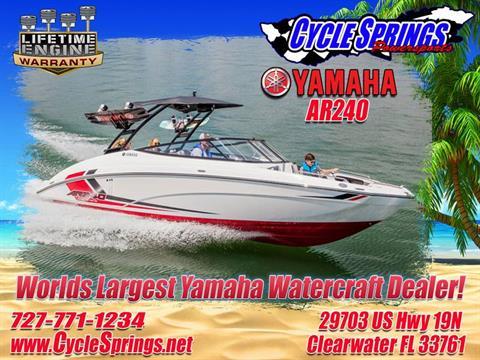 2017 Yamaha AR240 in Clearwater, Florida