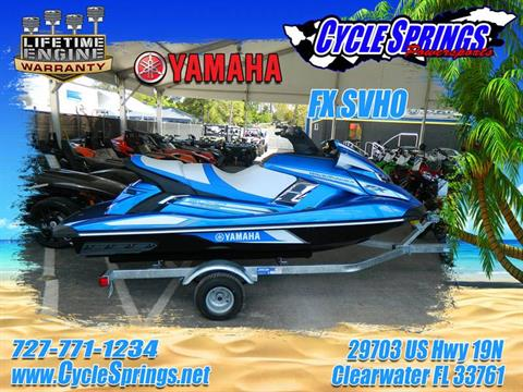 2017 Yamaha FX SVHO in Clearwater, Florida
