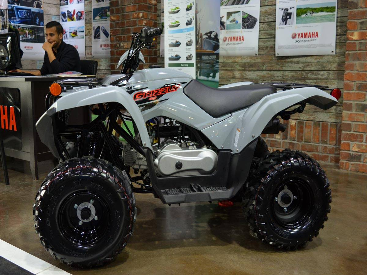 2021 Yamaha Grizzly 90 in Clearwater, Florida - Photo 11