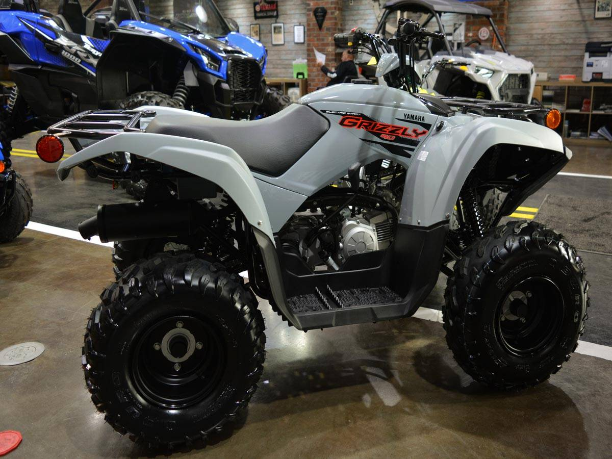 2021 Yamaha Grizzly 90 in Clearwater, Florida - Photo 10