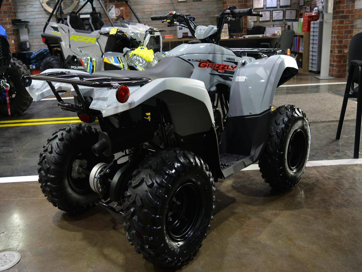 2021 Yamaha Grizzly 90 in Clearwater, Florida - Photo 13