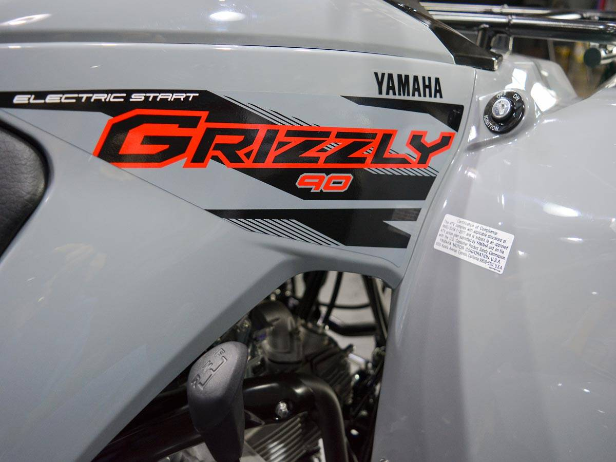 2021 Yamaha Grizzly 90 in Clearwater, Florida - Photo 17