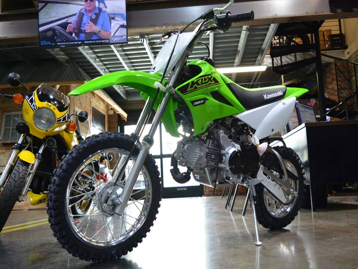 2021 Kawasaki KLX 110R L in Clearwater, Florida - Photo 5