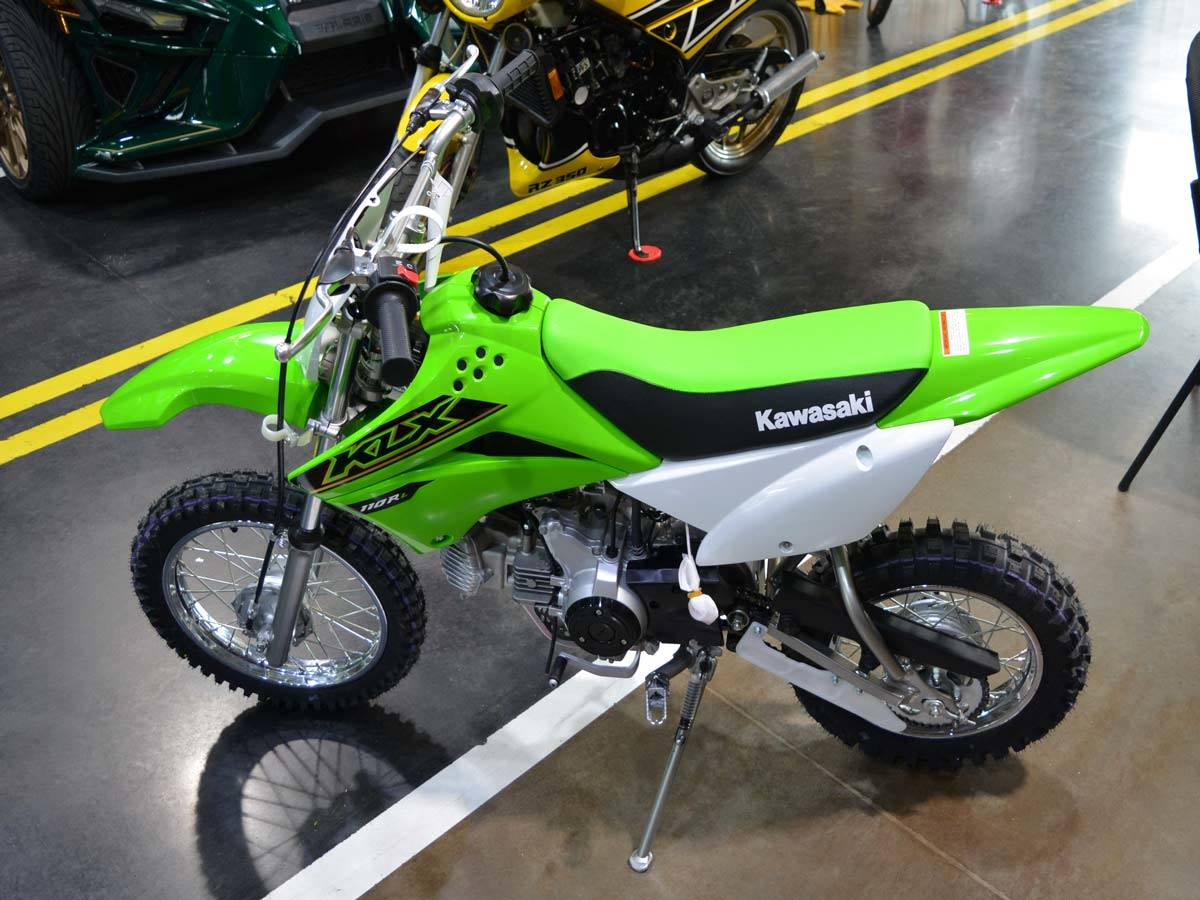 2021 Kawasaki KLX 110R L in Clearwater, Florida - Photo 4