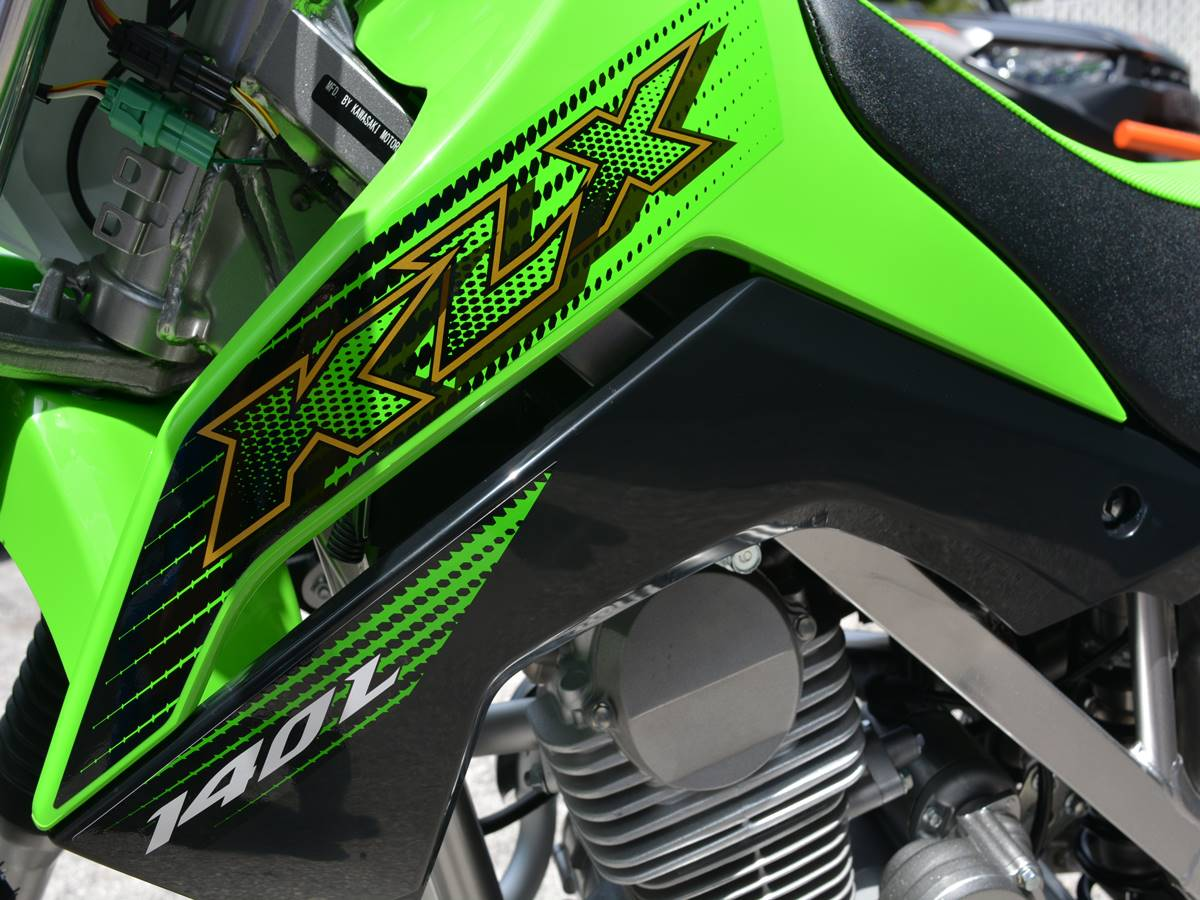 2020 Kawasaki KLX 140L in Clearwater, Florida - Photo 17