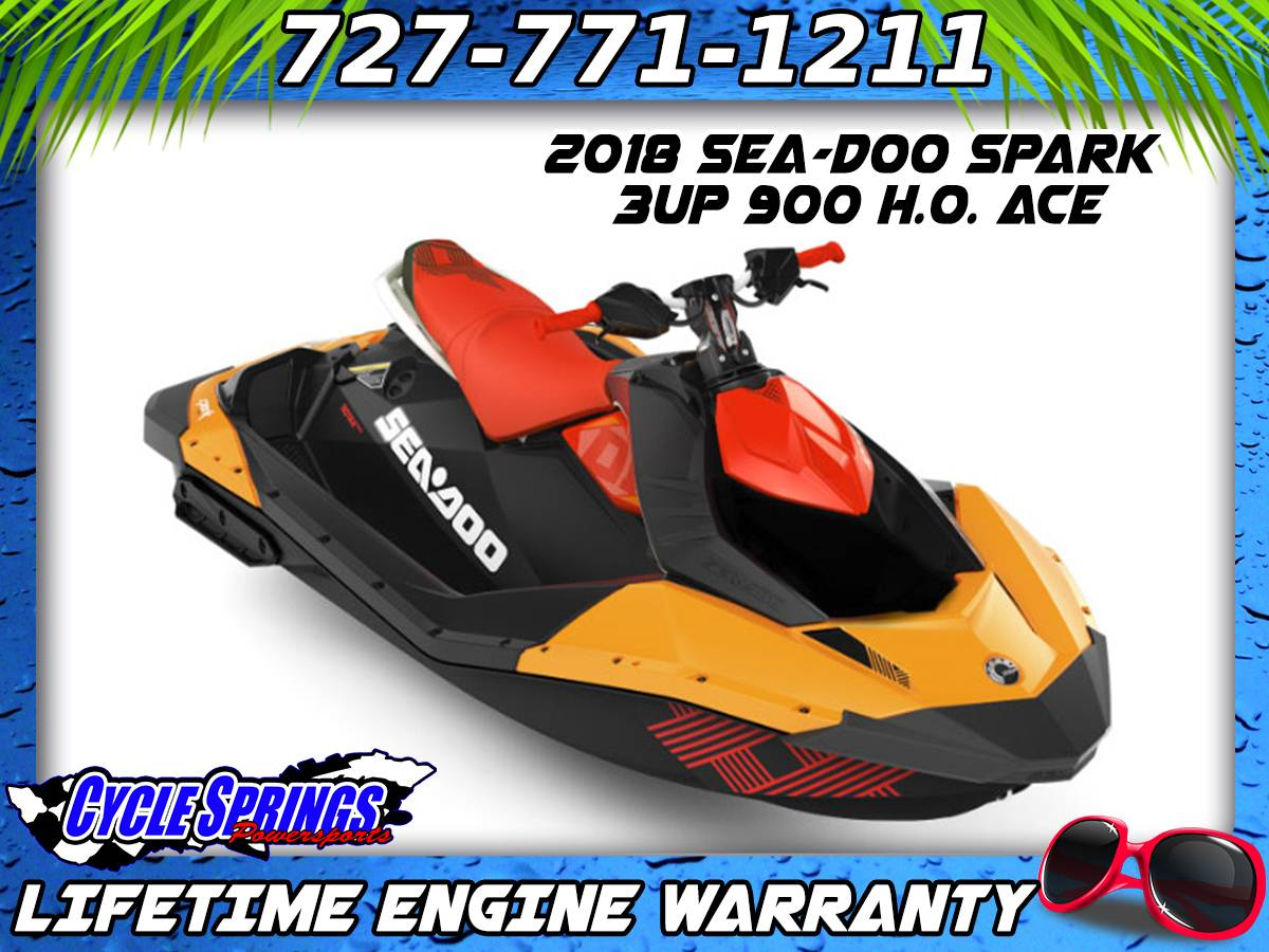 2018 Sea Doo SPARK 3up 900 HO ACE In Clearwater Florida