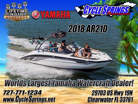 2018 Yamaha AR210 in Clearwater, Florida