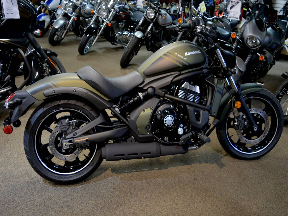 New 2019 Kawasaki Vulcan S Motorcycles In Clearwater Fl